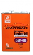 AUTOBACS Fully Synthetic 5w40 SN/CF   4л | Сингапур