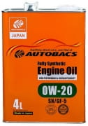 AUTOBACS Fully Synthetic 0w20 SN/CF   4л