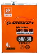 AUTOBACS Fully Synthetic 5w30 SN/CF/GF-5   4л