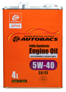 AUTOBACS Fully Synthetic 5w40 SN/CF   4л